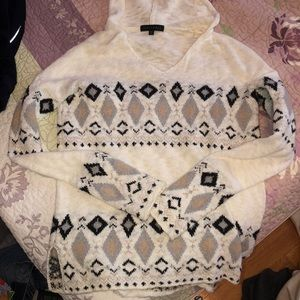 Sanctuary Hooded sweater